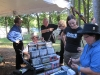 Bluegrass in the Pines 2011 - Merch Table Action