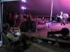 Bluegrass in the Pines 2011 - Art Stevenson admiring his handiwork